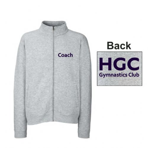 HGC Coaches Zip Top